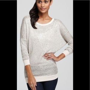Guess Gleam Sequined Sweater